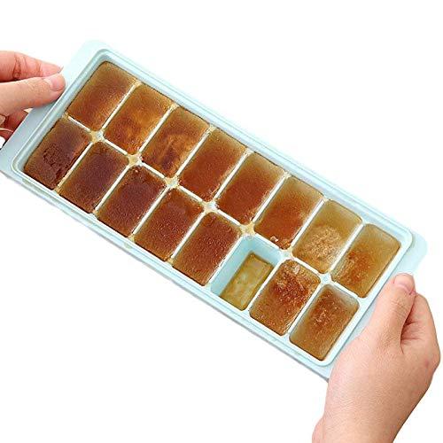 Eiswürfelbehälter Eisform mit Deckel für Eisparty Cocktail Cold Drink Wahl:Zufällige Farben