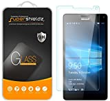 (2 Pack) Supershieldz Designed for Microsoft (Lumia 950 XL) Tempered Glass Screen Protector, Anti Scratch, Bubble Free
