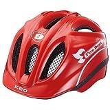 KED Fahrradhelm Meggy Fire in der Größe XS - Allrounder-Helm in robuster maxSHELL®- Technologie
