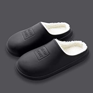 zapatos de casa antideslizantes de algodón lavable,Zapatillas de interior calientes, zapatos de algodón antideslizantes im...