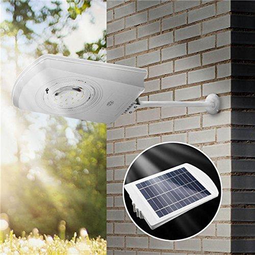 BAZAAR 15 W Énergie solaire Light Control étanche lampe murale extérieur Jardin Passerelle Street Light