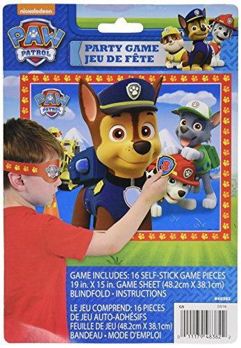 Unique Industries PAW Patrol Party Game for 16