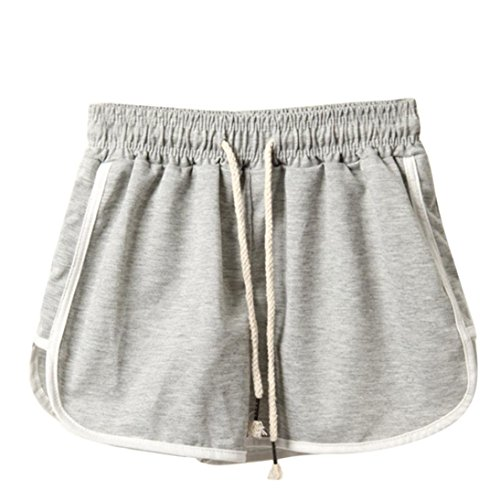 ??Amlaiworld Sommer Strand kurz Band Hosen Gemütlich Damen locker Shorts Sport Outdoor Kordelzug YogaHose Freizeit Jogginghose Elegant Aladinhose Pumphose für mollige S-XXXL