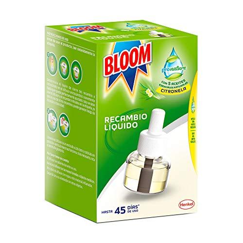 Bloom ProNature Insecticida Electrico Líquido contra mosquitos común y tigre - 1...