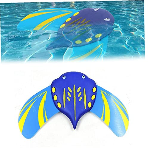 Stingray Submarino Velero Piscina juguete Autopropulsada ajustable Aletas Mini Submarino Stingray planeadores 1PC, Agua Adelante