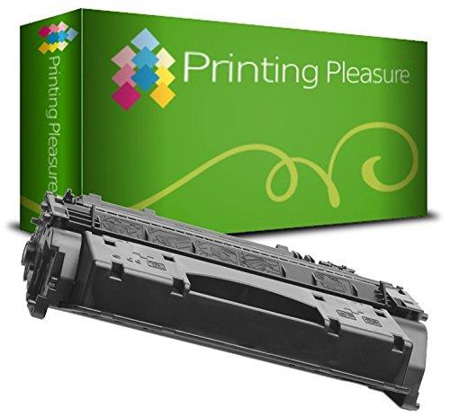 Printing Pleasure CF280X 80X Premium Toner Schwarz kompatibel für HP Laserjet Pro 400 M401A, M401D, M401DN, M401DNE, M401DW, M401N, MFP M425DN, MFP M425DW
