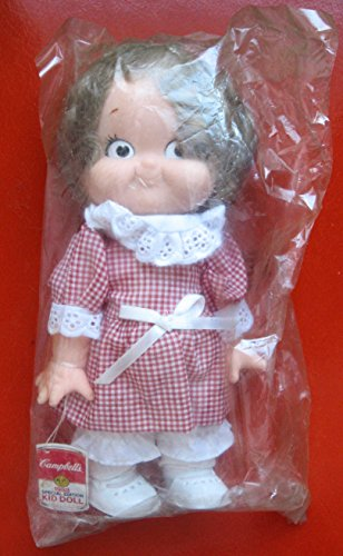 Vintage 1988 Campbell's Soup Special Edition Kid Doll 10 Inch Tall
