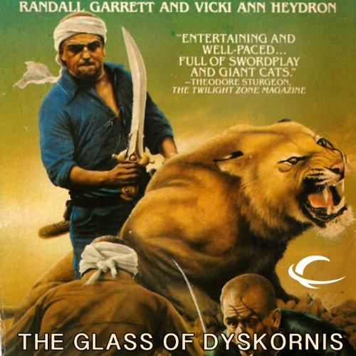 The Glass of Dyskornis audiobook cover art