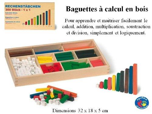 Méthode de calcul Cuisenaire ou Les mathématiques intelligentes et faciles