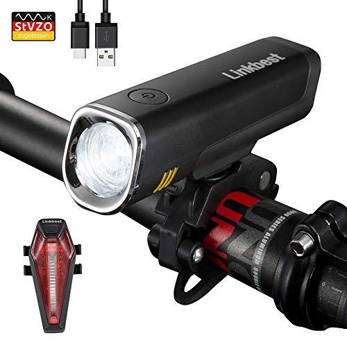Linkbest LF-04 Fahrradbeleuchtungs-Set