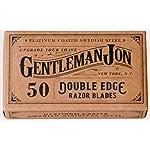 Gentleman Jon Platinum Double Edge Razor Blades   50 Pack (12 months supply)   Swedish Stainless Steel   Safety Razor… 3