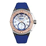 Ingersoll Reloj Analógico para Mujer de Automático con Correa en Plstico IN1104BL