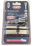 ABUS Türzylinder XP20S Profilzylinder inklusive Sicherungskarte und 3 Schlüsseln 76645 (1, 30/40)