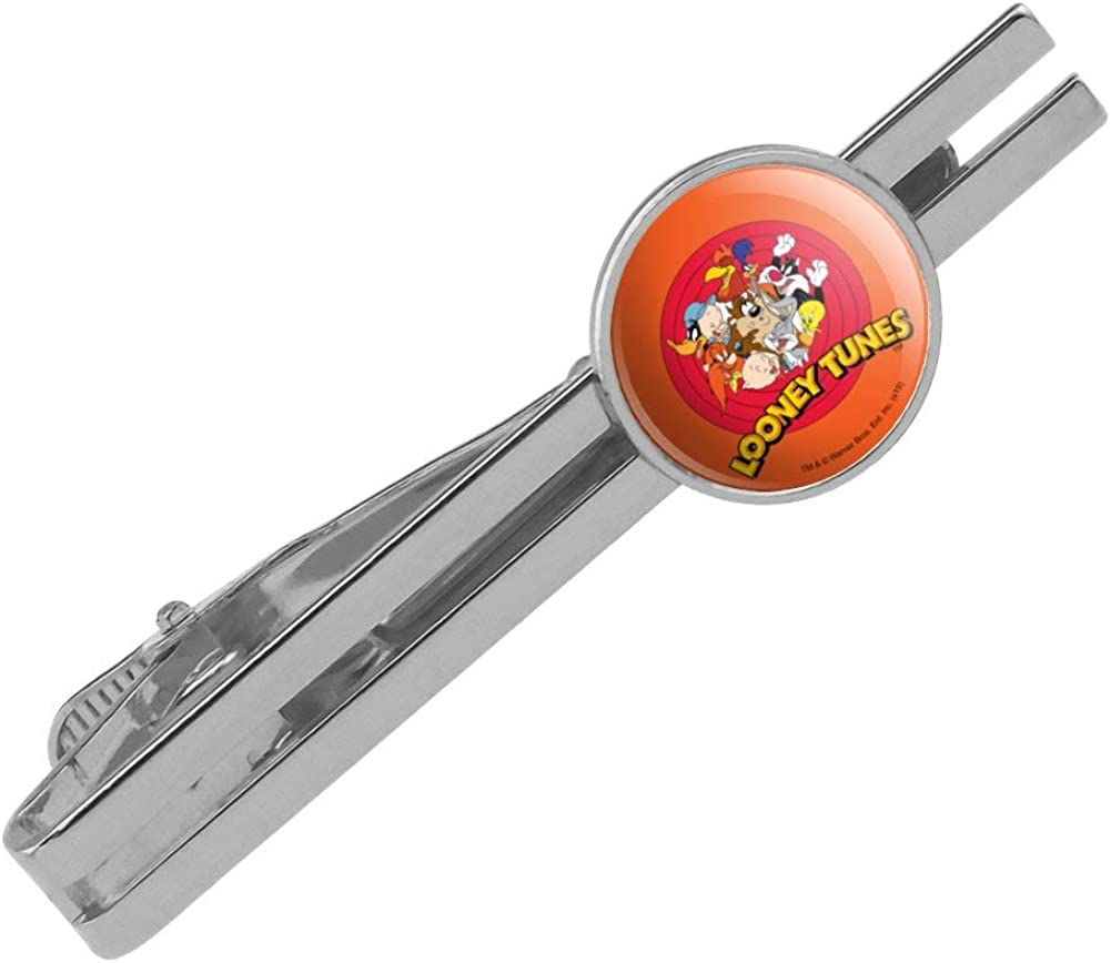 GRAPHICS MORE Looney Tunes Group Round Sale Special Price Tie Clasp List price Clip Bar Tack