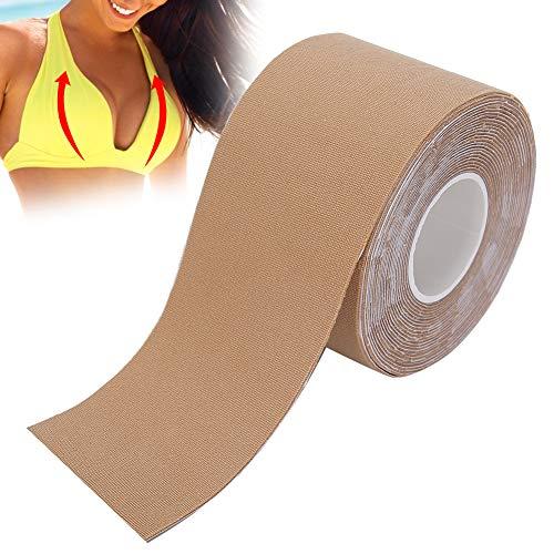 Cinta de levantamiento de senos, cinta de pechos cinta de sujetador para mujeres, cinta adhesiva elástica cinta de sujetador push up cinta impermeable y transpirable para el cuerpo(03)