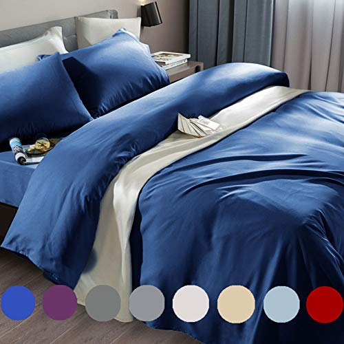 SONORO KATE Bed Sheet Set Super Soft Microfiber 1800 Thread Count Luxury Egyptian Sheets Fi…