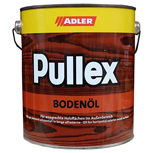 ADLER Pullex Bodenöl 2.5l Kongo Bangkirai Öl Holzöl für Terrasse Holzschutz