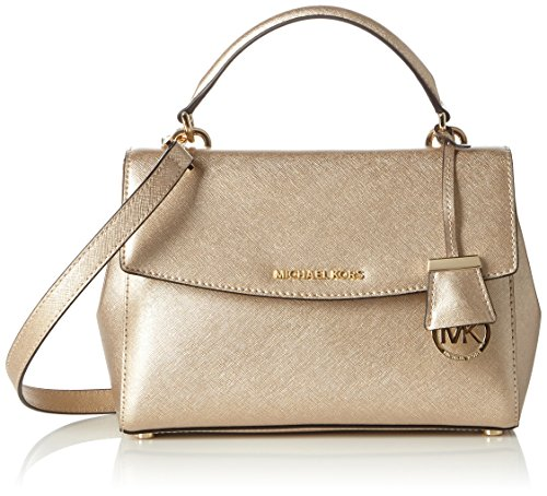 Made of Saffiano leather; Flap with Magnetic inside closure; Top handle; Flap with Magnetic inside closure; 1 inside zip pocket Back open pocket with snap closure; 1 inside open pocket; Leather handles of 4 Inches drop Adjustable and detachable leath...