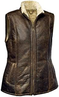 Eastern Counties Leather Womens/Ladies Gilly Sheepskin Gilet