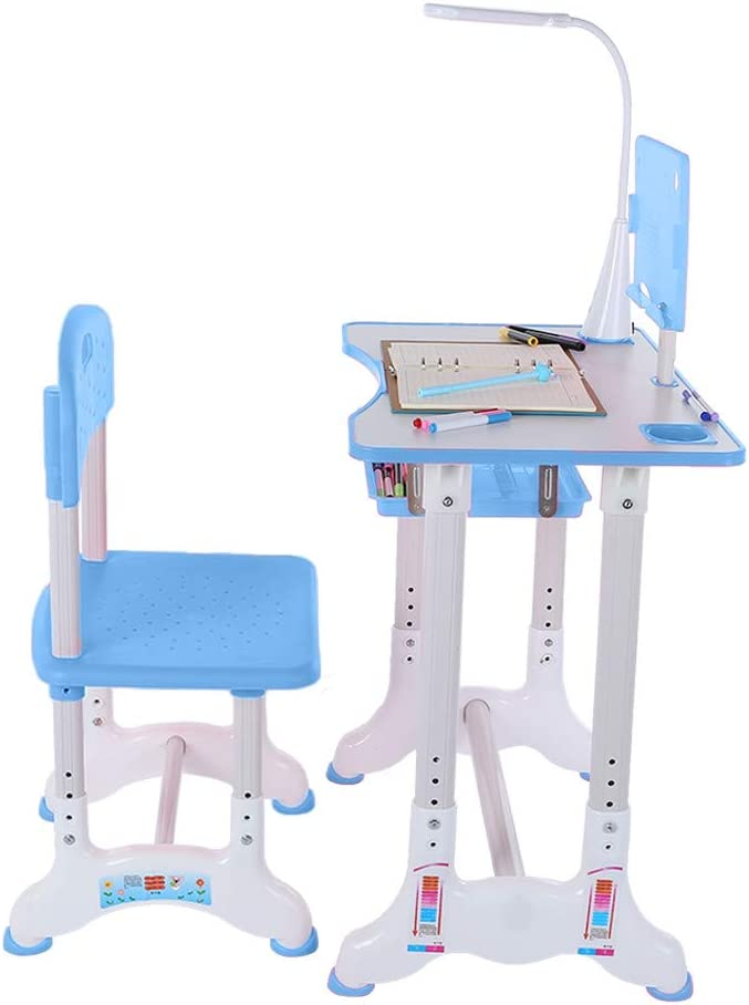 PUTEARDAT Kids Desk and Chair Adjustable Study - Set Portland Mall All items in the store Height