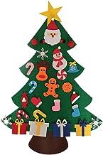 DYNWAVE DIY Sentiu árvore de Natal, Crianças árvore de Natal com Ornamentos Destacáveis, Presentes de Natal para Crianças,...