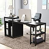 Tribesigns Extra Large Computer Desk with Storage...