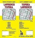 Topeka / Lawrence, Kansas Street Map