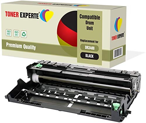 TONER EXPERTE® Trommel kompatibel zu DR3400 (30000 Seiten) für Brother DCP-L5500DN L6600DW HL-L5000D L5100DN L5200DW L5200DWT L6300DW L6300DWT L6400DW L6400DWT MFC-L5700DN L5750DW L6800DW L6900DW