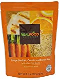 Real Food Blends Tube Feeding Formula 9.4 oz. Pouch Ready to Use Orange Chicken/Carrots/Brown Rice Adult/Child, 49746 - Each
