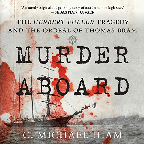 Murder Aboard audiobook cover art