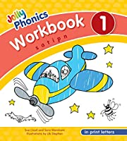 Jolly Phonics Workbook 1 in Print Letters