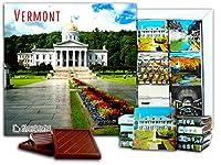 "DA CHOCOLATE キャンディ スーベニア ""VERMONT "" VERMONT チョコレートセット 5×5一箱 (Cathedral)"