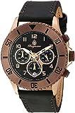 Burgmeister Women 039 s QuartzステンレススチールCasual Watch, Color : Black (Model : bm532–922–1)