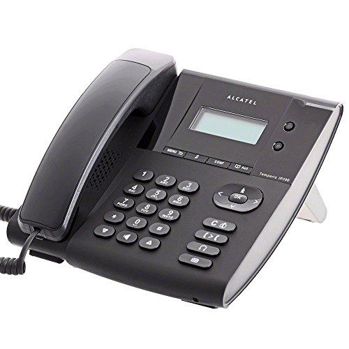 Alcatel 140 19 19 Temporis IP 200 SIP PoE schnurgebundene VoIP-Telefone schwarz