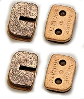 Two Sintered Brake Pad set compatible with Trailmaster Mini XRX and Mini XRS Go Karts part# 7.120.060