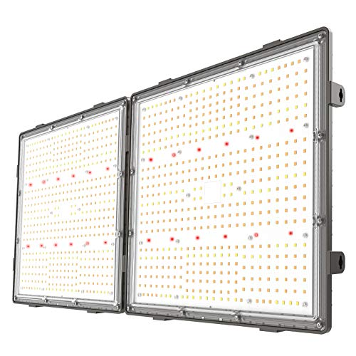 GROPLANNER 200 Watts LED Grow Lights 1000 LEDs Seed Starting, Veg and Flower Smart Dimming&Timing Control by Phone
