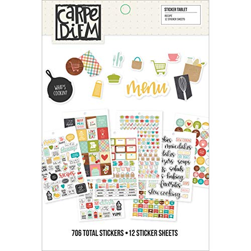 Simple Stories Recipe Sticker Tablet