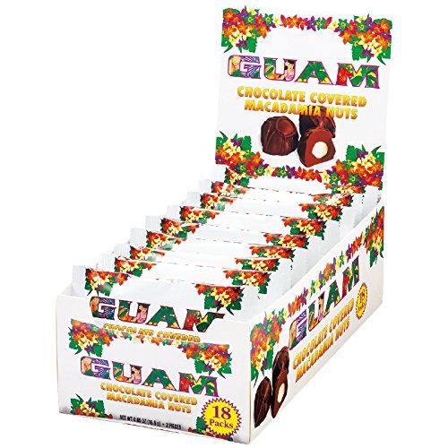 グアム 土産 グアム マカデミアナッツチョコレート ミニ 18袋セット (海外旅行 グアム お土産)