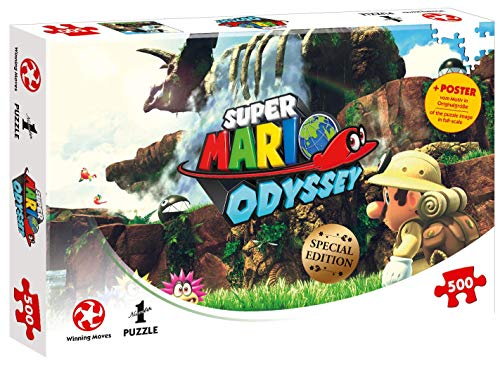 Puzzle Super Mario Odyssey Fossil Falls, 500 Teile
