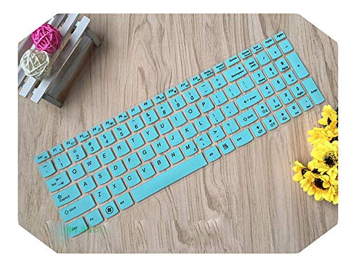 Keyboard Cover Skin Protector for Lenovo G50 G50-30 G50-70 G50-80 G500 G500s G505 G505s G510 G570 G575 G770 G580 G585 Y570-Skyblue-