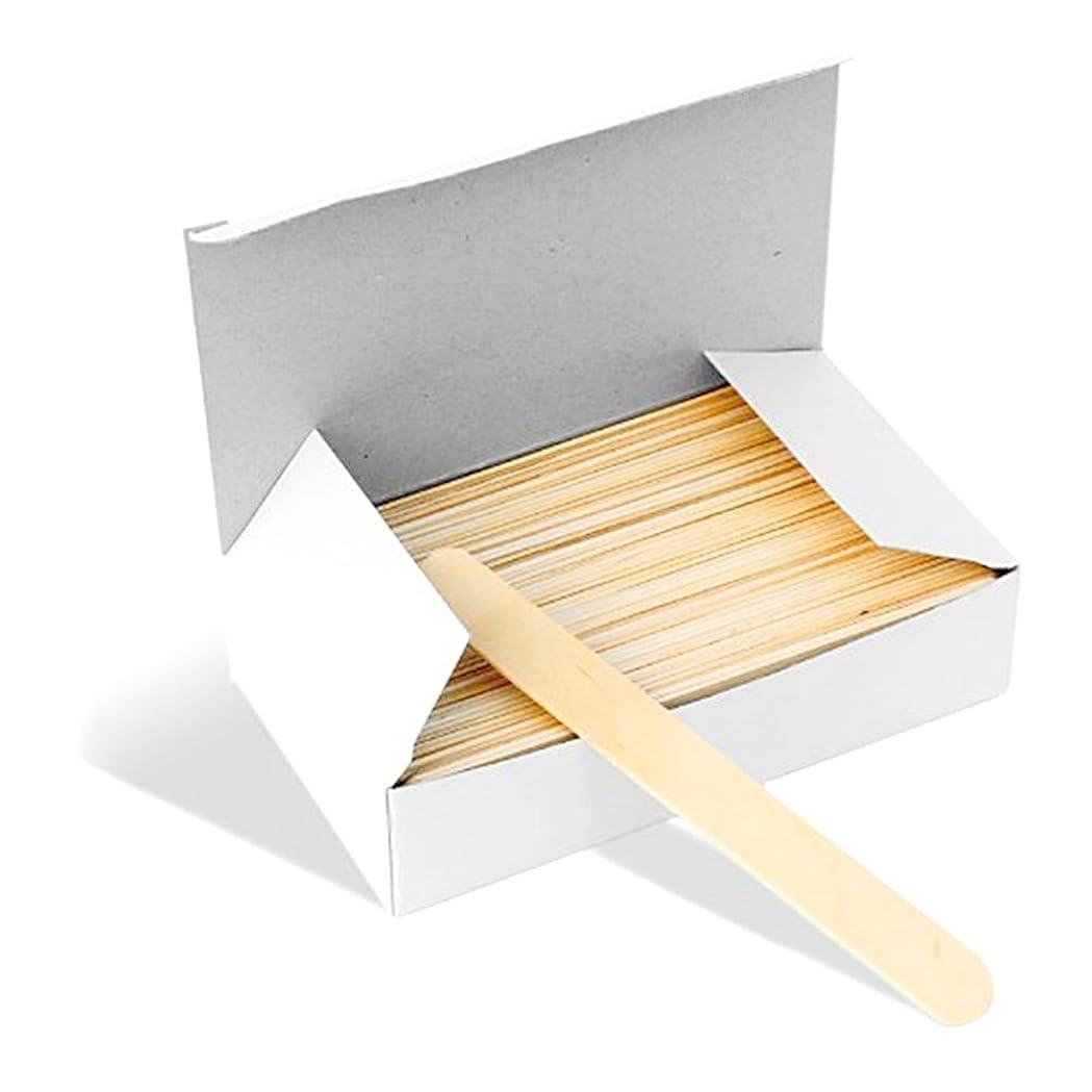 ローズバー魚ROSENICE 舌圧子 使い捨て 舌圧迫器 ディスポーザブル 業務用木製 消毒済 100本入り