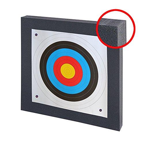 Franks-Castle Set Zielscheibe bis 40 lbs - 60 x 60 cm mit Auflage und Scheibennägeln