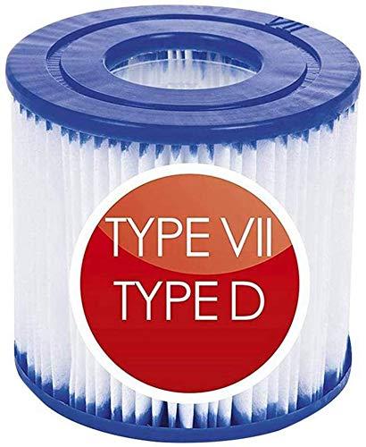 SYANO Pool VII - Filtro de papel para piscina, sustituye a cartuchos...