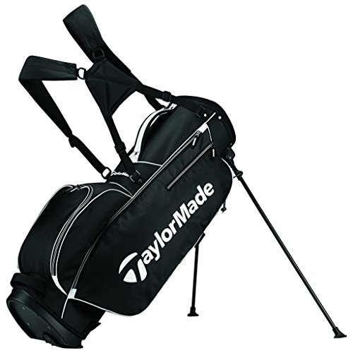 TaylorMade 2017 TM 5.0 Stand Golf Bag, Black/White