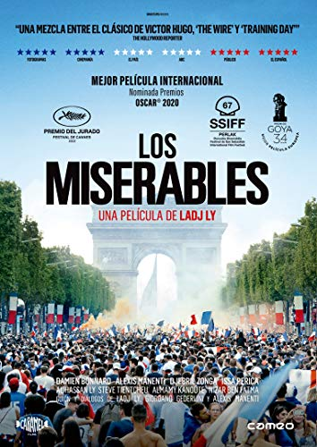 Los Miserables [DVD] Damien Bonnard