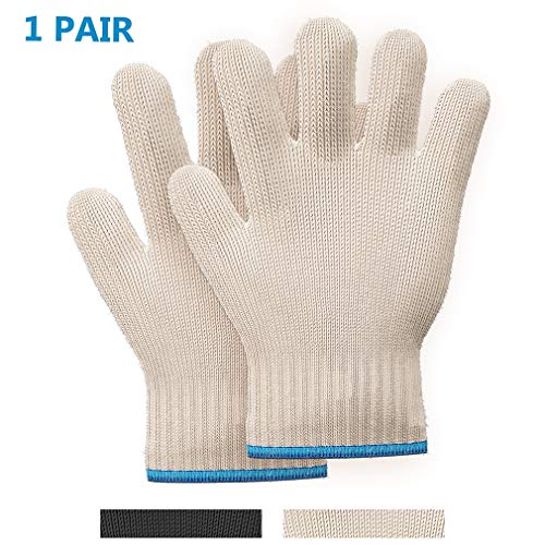 Killer#039s Instinct Outdoors 1pair Heat Resistant Gloves Oven Gloves Heat Resistant With Fingers Oven Mitts Kitchen Pot Holders Cotton Gloves Kitchen Gloves Double Oven Mitt Set Oven Gloves With Fingers
