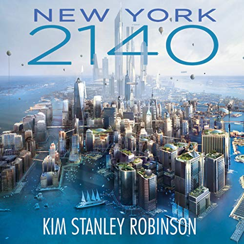 New York 2140 audiobook cover art