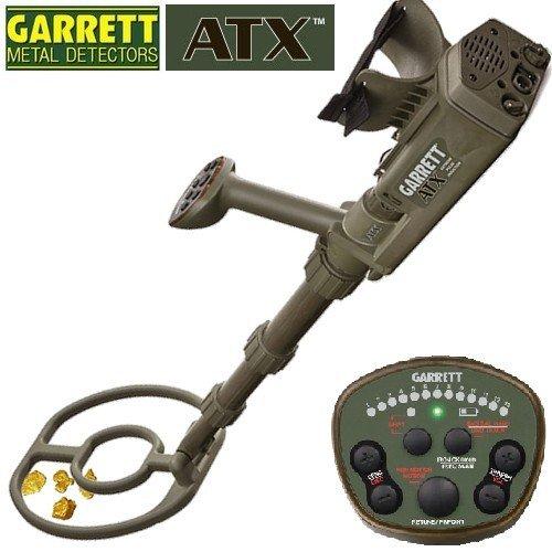 Garrett ATX para buscar oro, tecnología de inducción pulsada