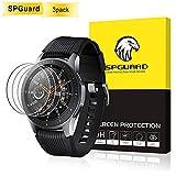 SPGuard Protection d'écran(3 Pack) Compatible Samsung Galaxy Watch SM-R800/SM-R805(46mm), 2.5D[9H][HD] Anti-Bulle,...