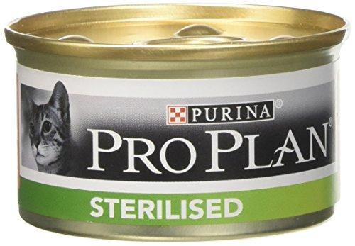 Pro-Plan - Leche Esterilizada para Gatos, salmón, 85 g